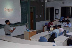Digital Marketing Workshop in Nirma University