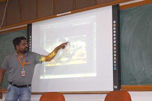 Photoshop Workshop in Nirma University