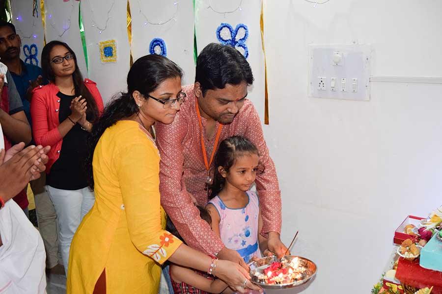 Ganesh Celebration in Computer Classes