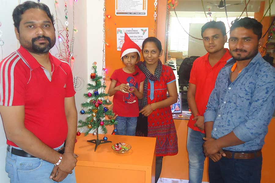 Festival Celebration at Computer Classes