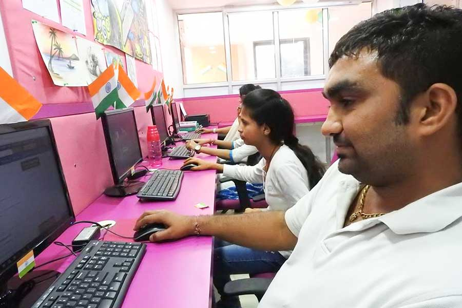 Independence Day Celebration in Computer Classes