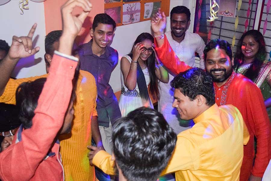 Diwali Celebration in Computer Classes